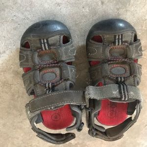 Little hiking sandals